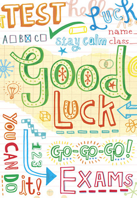 Best Of Luck To Our Junior And Leaving Cert Students