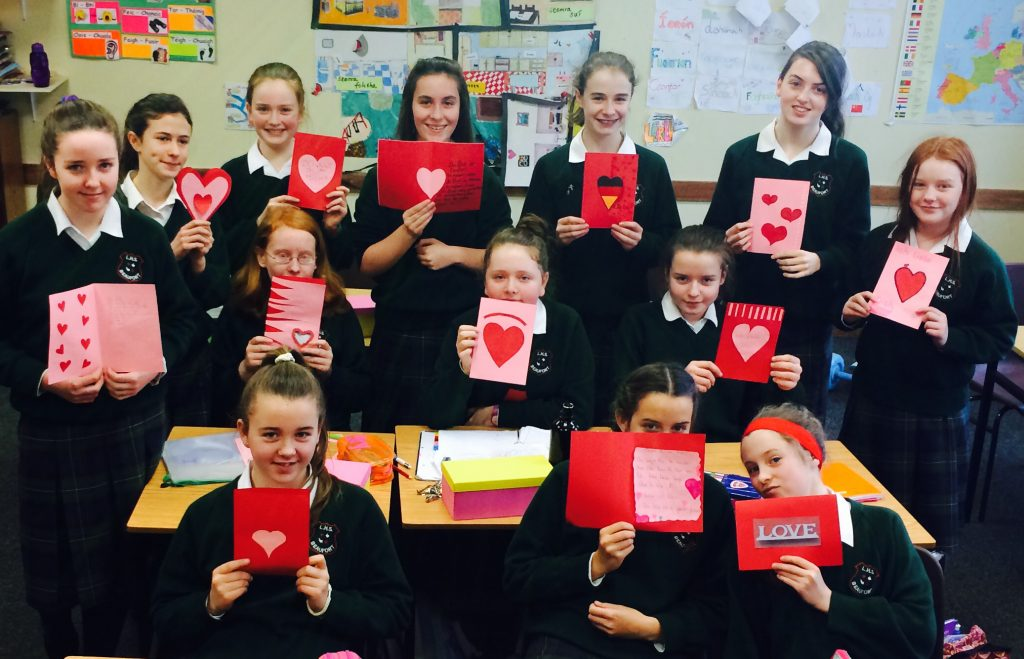 Valentinstag Auf Deutsch Loreto High School Beaufort